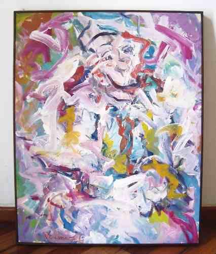 Luciano Lo Ré - Quadro, Pintura Óleo sobre Tela com Certificado, Assinado