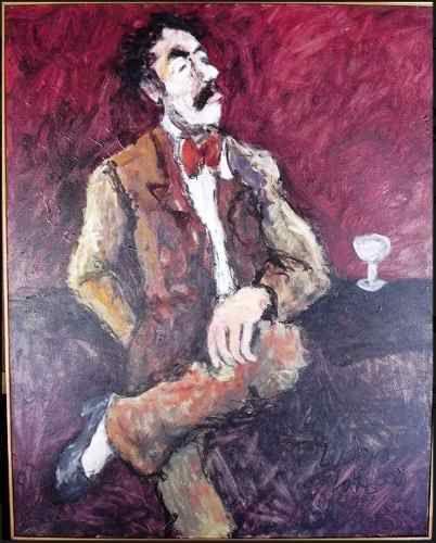 Luciano Lo Ré - Quadro, Pintura Óleo S/ Tela Assinado, com Certificado