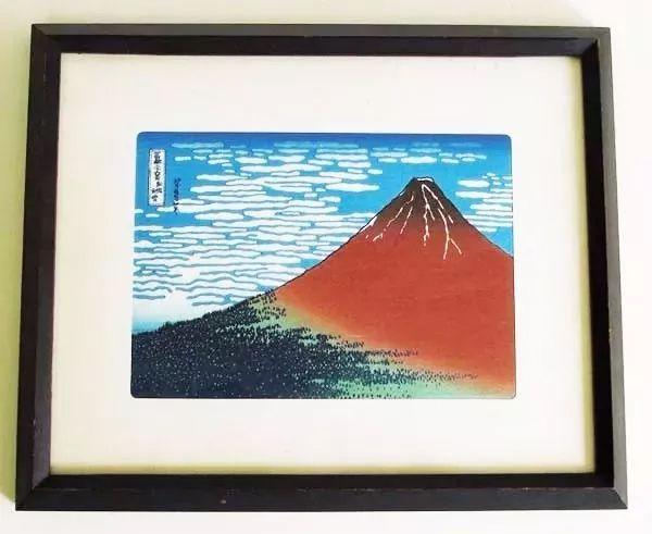 Katsushika Hokusai - Gravura do Monte Fuji