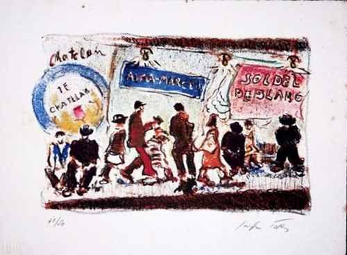 Sergio Telles - Serigrafia Assinada, numerada 33/ 50