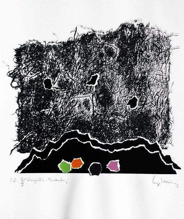 Eduardo Iglesias - Gravura e Colagem, Horizonte e Montanhas