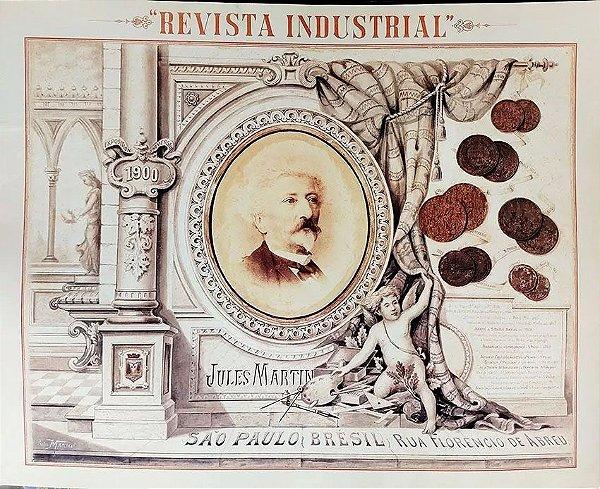 Portfólio da Exposição 1900 Jules Martin - Revista Industrial - 4 Estampas