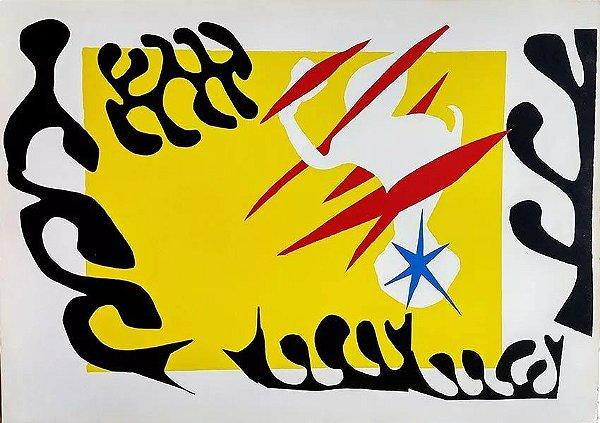 Portfólio Henri Matisse, Jazz, Com 6 Estampas, Completo