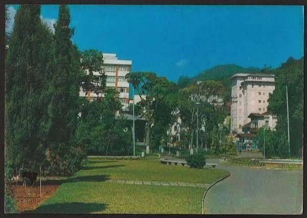Rio De Janeiro - Petrópolis, Praça Rui Barbosa - Cartão Postal Antigo Fotográfico
