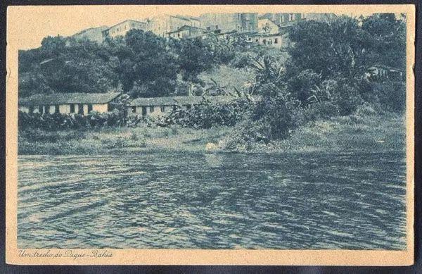 Salvador, Bahia - Um Trecho do Dique do Tororó - Cartão Postal Antigo Tipográfico, Original