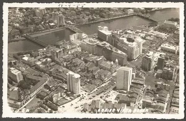 Pernambuco - Recife - Cartão Postal Fotográfico Antigo, Original