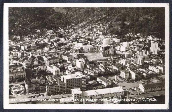 Espírito Santo - Vitória - Cartão Postal Antigo Original, Edição Colombo