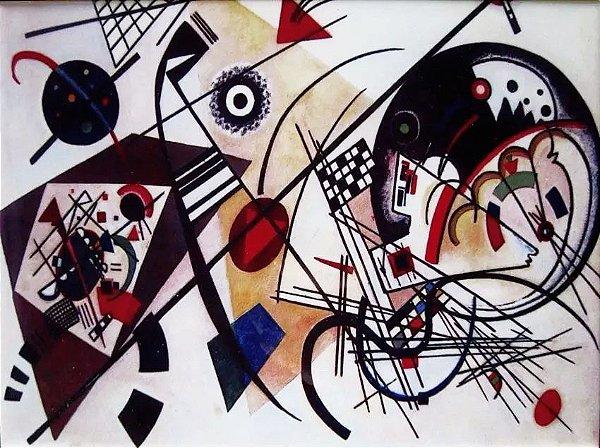 Kandinsky, Wassily - Azulejo Decorativo Com Imagem de Obra Abstrata Do Artista