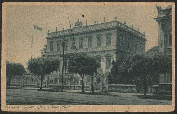 Bahia -  Salvador, Campo Grande - Câmara dos Deputados,  Cartão Postal Antigo Original