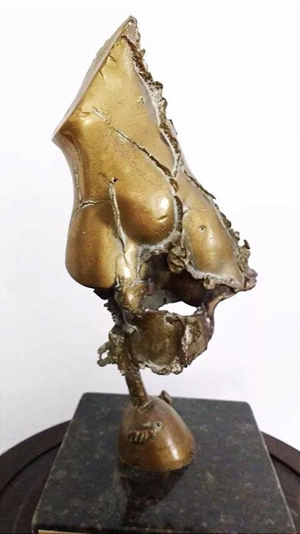 Irma Maluf - Escultura em Bronze, Figurativo Abstrato Feminino
