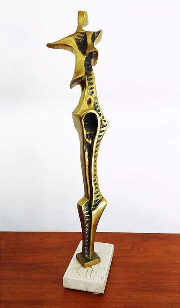 """Roberto Gabriel Crivellé - Escultura em Bronze Titulada """"Manolete el Toureiro"""""""