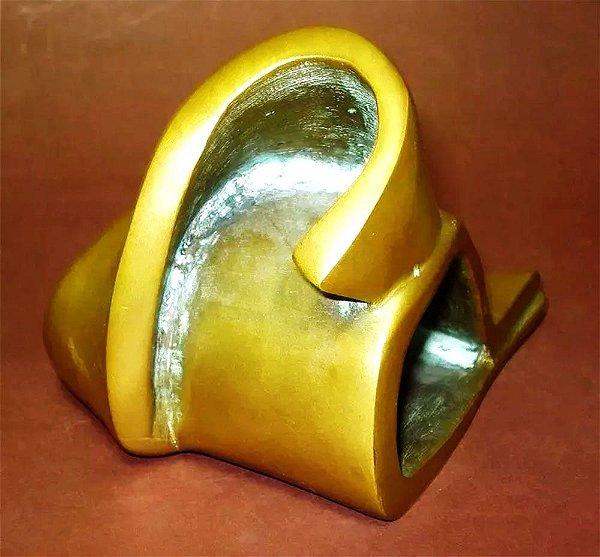 Escultura em Bronze, Abstrato, Torçade Decorativo