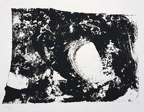 Antonio Hélio Cabral - Arte em Gravura, Litografia Assinada com Dedicatória