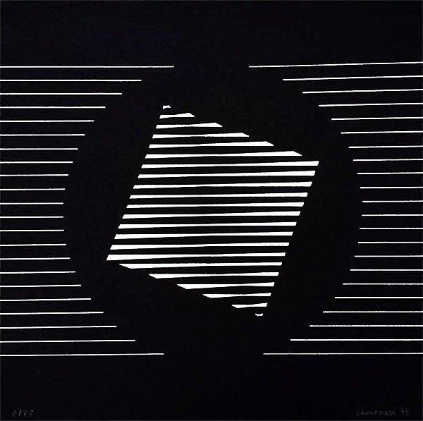 Lothar Charoux - Arte Geométrica em Gravura, Serigrafia Assinada e Numerada