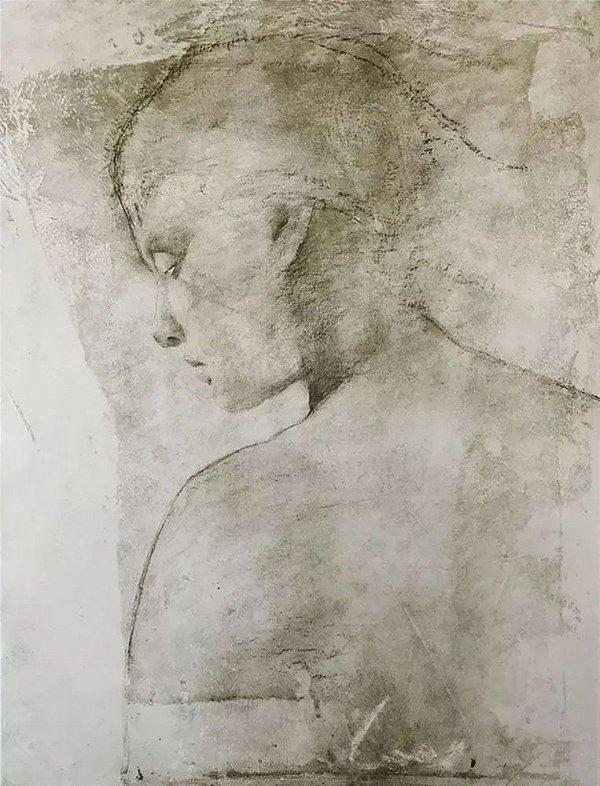 Carlos Araujo - Arte em Gravura, Litografia Original, Prova de Artista, Assinada
