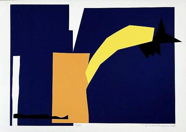 Carlos Eduardo Zimmermann - Arte em Gravura, Serigrafia Original, Assinada