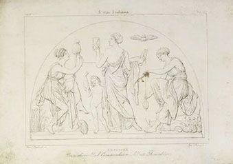 Le Parche - Arte em Gravura Antiga Original, L' Ape Italiana