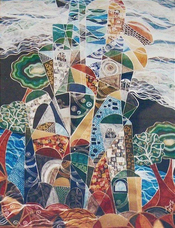 Ilan Hasson - Quadro, Arte em Gravura, Litogravura Assinada e Numerada