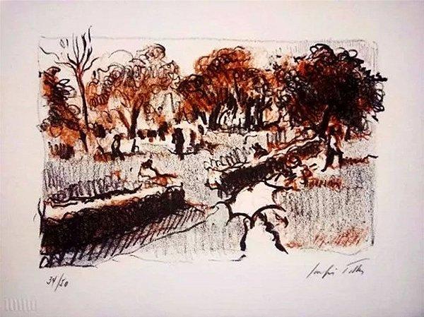 Sergio Telles - Arte em Gravura, Serigrafia Assinada e Numerada