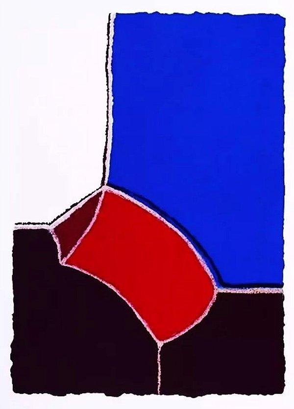 Manfredo Souza Netto -  Arte em Gravura, Serigrafia Assinada, Composição Geométrica
