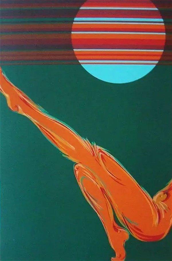 Elvio Becheroni -  Arte em Gravura Original, Assinada, Retalhos Místicos