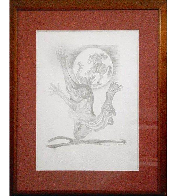Clóvis Graciano - Paris, Quadro, Arte em Gravura Original, Assinada
