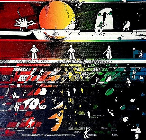 Paulo Fernando Gruber - Arte em Gravura Original, Prova de Artista, Assinada, de 1978