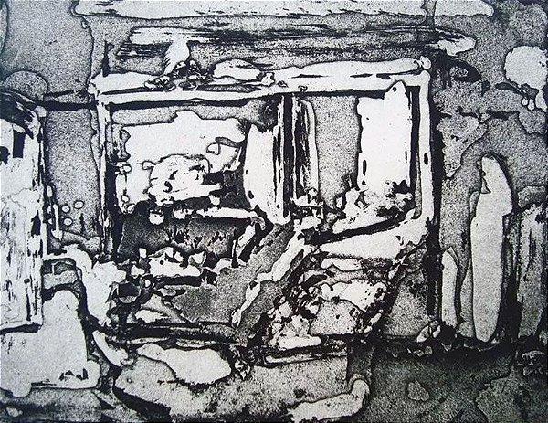 Jorge Martins - Arte em Gravura Original Assinada, Numerada, datada de 1969