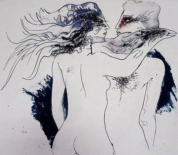 Guyer Salles - Arte Erótica em Gravura Original, Assinada