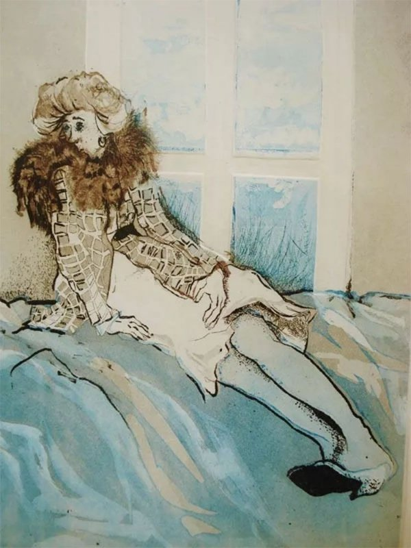 Beatriz Berman - Quadro, Arte em Gravura, Assinada, Datada de 1977
