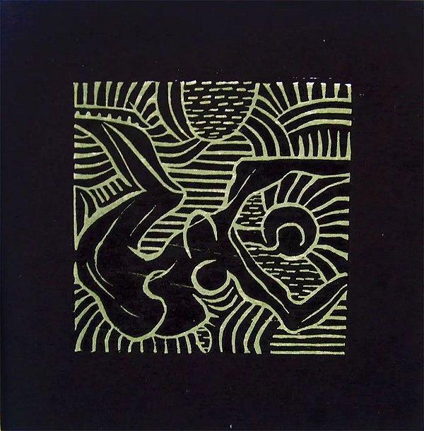 Odetto Guersoni - Quadro, Arte em Gravura Assinada de 1969, Musa