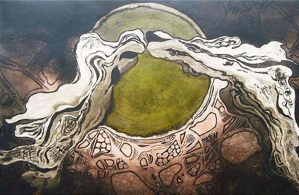 Isabel Pons - Arte em Gravura, Original  Assinada a Lápis