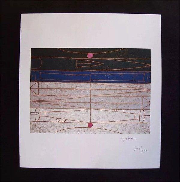 Francisco Galeno -  Arte em Gravura Assinada e Numerada