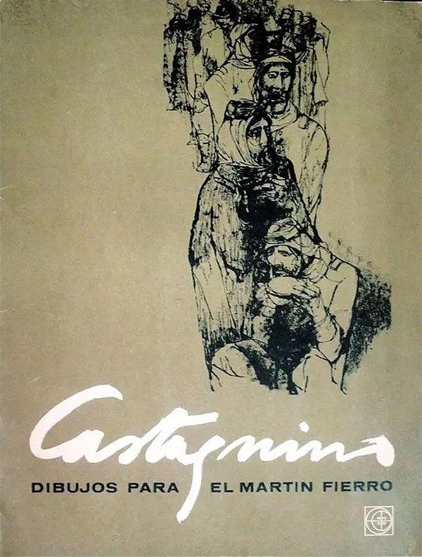 Castagnino - Pasta com 20 Gravuras, de 1962, Dibujos para El Martin Fierro