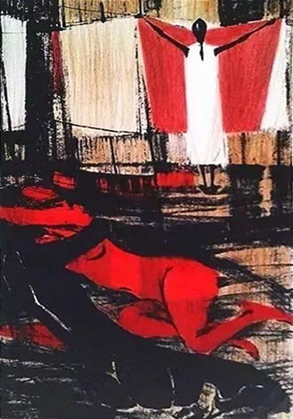 Enrico Bianco - Quadro, Arte em Gravura Original, Assinada e Numerada