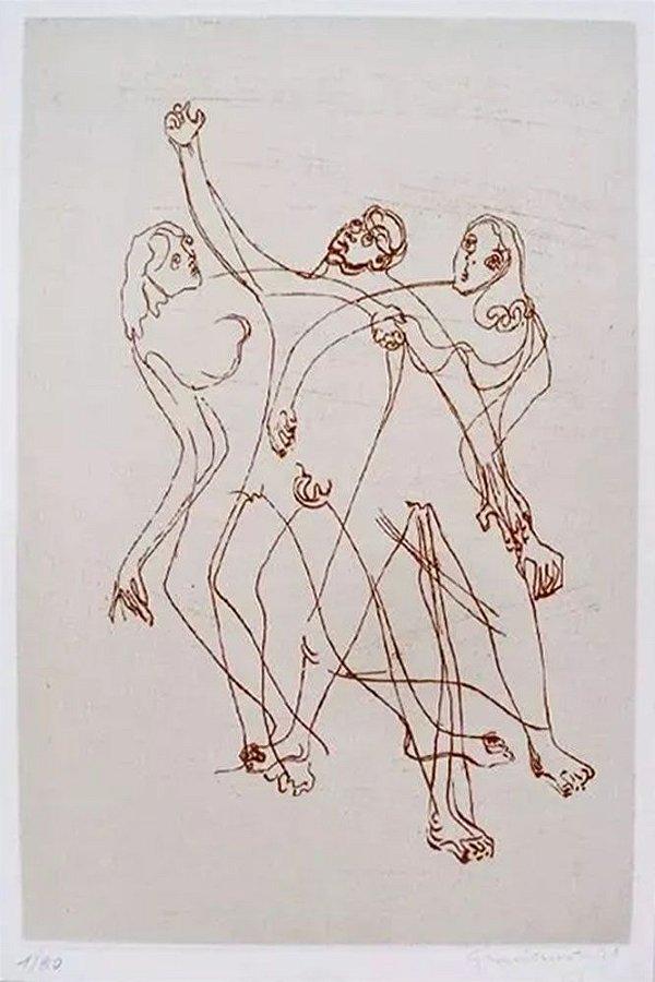 Clóvis Graciano - Arte em Gravura Original, Assinada e Numerada
