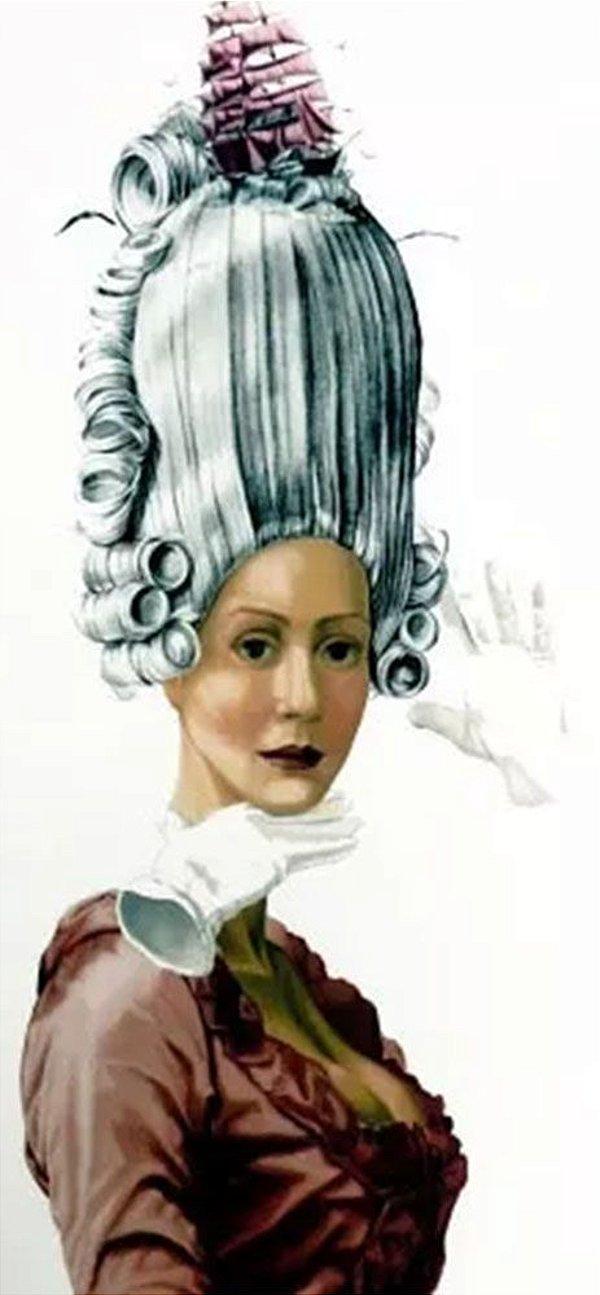 Sonia Menna Barreto - Quadro, Arte em Gravura, Serigrafia Original, Maria Antonieta