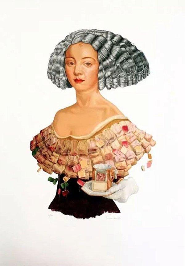 Sonia Menna Barreto -  Arte em Gravura, Serigrafia Original, Catarina