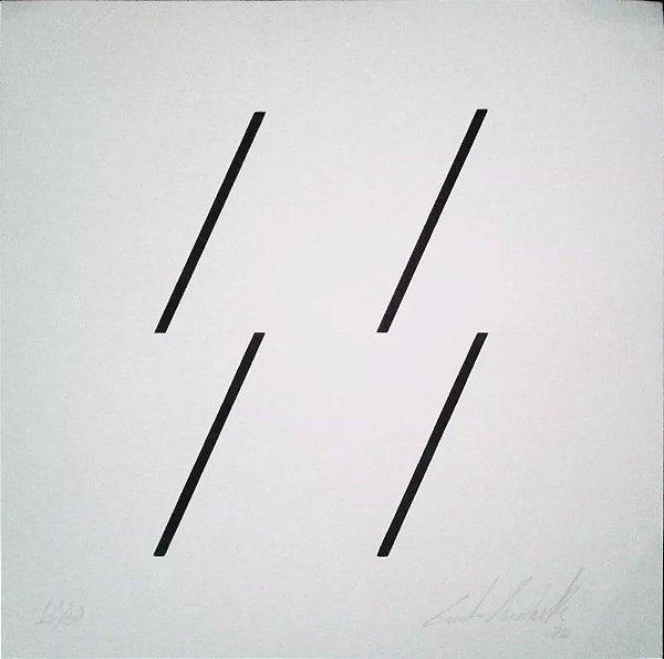 Quadro - Arte em Gravura, Litogravura Original Assinada, de 1975