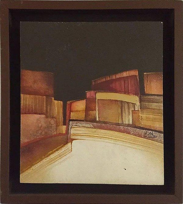 Betti - Quadro, Arte em Pintura Abstrata Original, Assinada