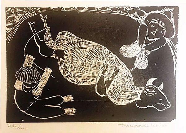 Trindade Leal - Quadro, Arte em Gravura Original, Assinada e Numerada