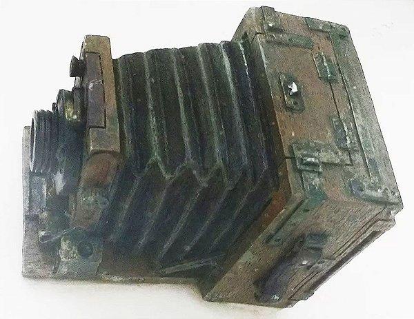 Quadro - Câmera Fotográfica em Miniatura, Fotografia, Arte