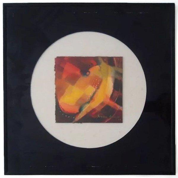 Rosane Gauss - Quadro, Arte em Pintura, Técnica Mista, Assinada, de 1979