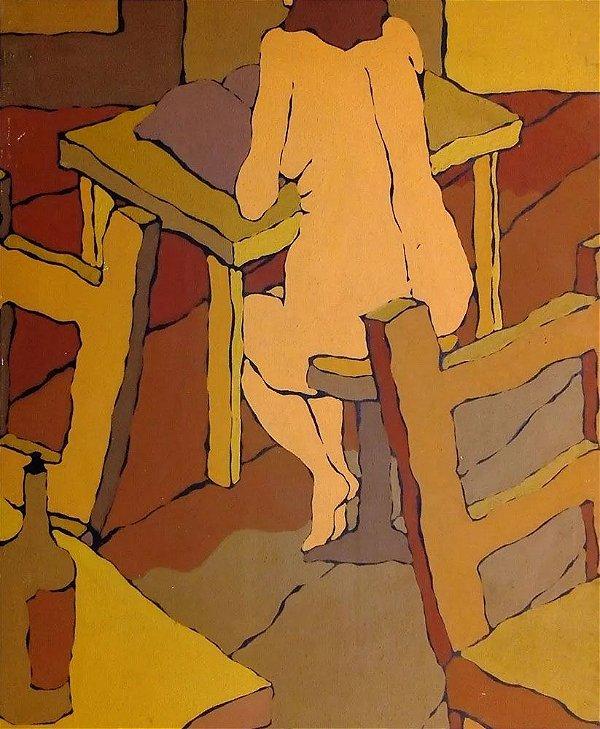 Concha Jerez - Quadro, Arte em Pintura, Óleo s/ Tela, Figurativo Feminino Pós Expressionismo, de 1974