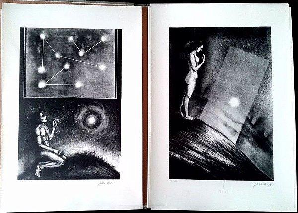 João Câmara - Quadro, Arte em Gravura, 10 Litogravuras Originais Assinadas, Dante Alighieri