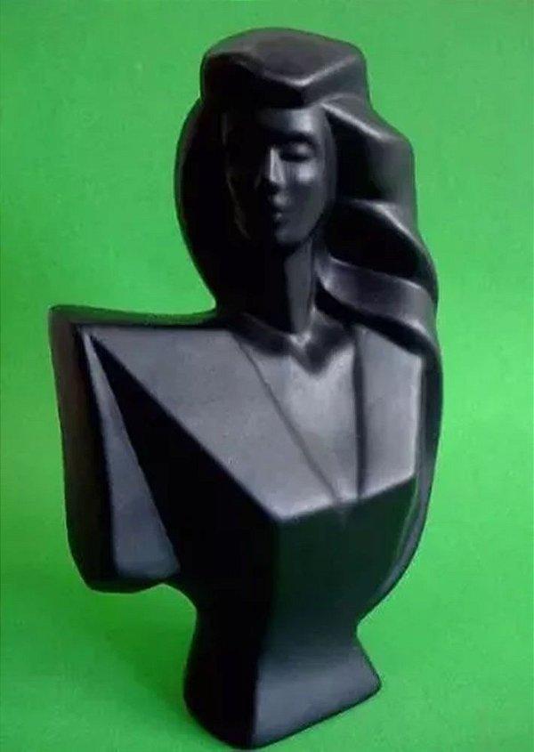 Escultura em Cerâmica, Estilo Retro / Decô, Figurativo Feminino