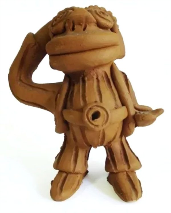 Joel Galdino - Escultura em Barro, Figurativo Masculino