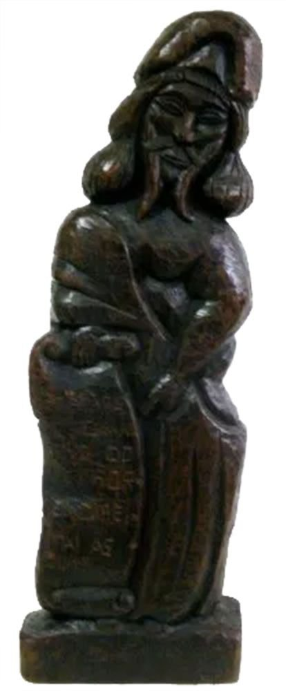 Saiane - Escultura em Madeira, Profeta de Congonhas MG