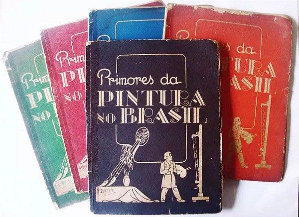 Acquarone - Primores da Pintura no Brasil, 5 Fascículos, Mestres da Pintura Brasileira