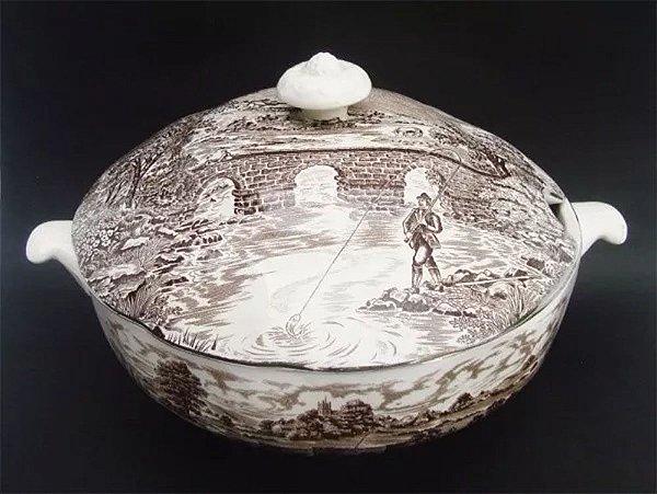 Crown Ducal - Grande Sopeira em Porcelana Inglesa, Perfeita